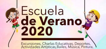 Inscripciones para Escuela de Verano 2020