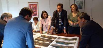 Alcalde de Laja se reúne con ministra de educación Marcela Cubillos