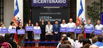 Director de Liceo Héroes de la Concepción participó de capacitación en La Moneda