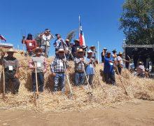 Más de 10 mil personas participaron de la Trilla a Yegua Suelta Laja 2020
