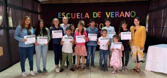 Finalizó segunda Escuela de Verano Rural