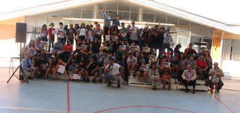Cerca de 80 jóvenes participaron de la Escuela de Verano Laja 2020