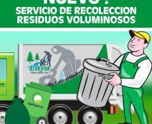 Sábado 30 de Mayo : Nuevo Retiro de Residuos voluminosos
