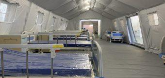 Hospital de campaña no atenderá a pacientes con covid-19