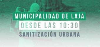 HOY MIÉRCOLES 22 DE JULIO: Nuevo operativo de sanitización urbana