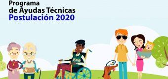 Postulación al Programa FNDR de Ayudas Técnicas de la Región del Biobío año 2020