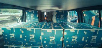 Laja inicia una nueva distribución de ayuda social entregada por el Gobierno