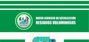 Sábado 12 de septiembre: Nuevo Operativo de Retiro de residuos voluminosos