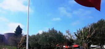 Protocolar ceremonia de Izamiento de la Bandera marca el inicio del Mes de la Patria en Laja