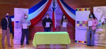 Sercotec traspasa 30 millones de pesos a Agrupación Barrio Comercial Laja Centro