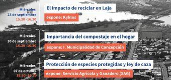 Ciclo de Charlas Medioambientales por Facebook live