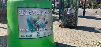 Municipalidad de Laja instala nuevos puntos verdes