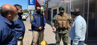Con 10 detenidos concluye primer día en cuarentena de Laja