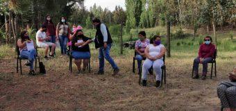Alcalde de Laja y equipo Secplan informan sobre avances en sistemas de agua potable en sector rural
