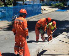 Inician obras de Mejoramiento Vial en Plaza de Laja
