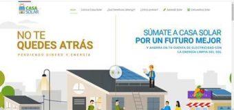 Lunes 16 de Noviembre: Charla Online «Casa Solar»