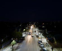 Hágase la luz: Avenida Los Ríos muestra su nueva iluminación