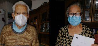 Vacunación contra la influenza continúa en domicilios de adultos mayores