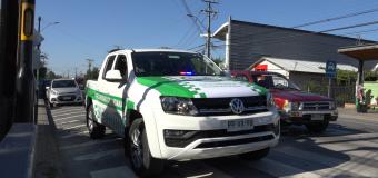 Seguridad Ciudadana colaboró en detención de dos personas y la incautación de armas de fuego