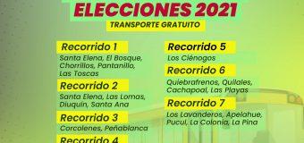 Gobernación dispone recorridos de acercamiento para el proceso eleccionario del 15 y 16 de mayo
