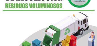 Nueva fecha de Recolección de Residuos Voluminosos