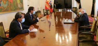 Alcalde de Laja avanzó en las gestiones para construir el primer Centro de Salud Mental de Laja