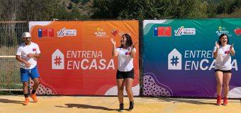 IND y Municipalidad desarrollan actividad deportiva promocional
