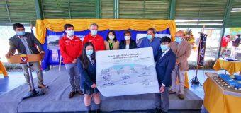 Autoridades visitaron terreno donde se emplazará el Liceo Técnico Profesional de Laja